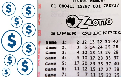 Oz Lotto prices